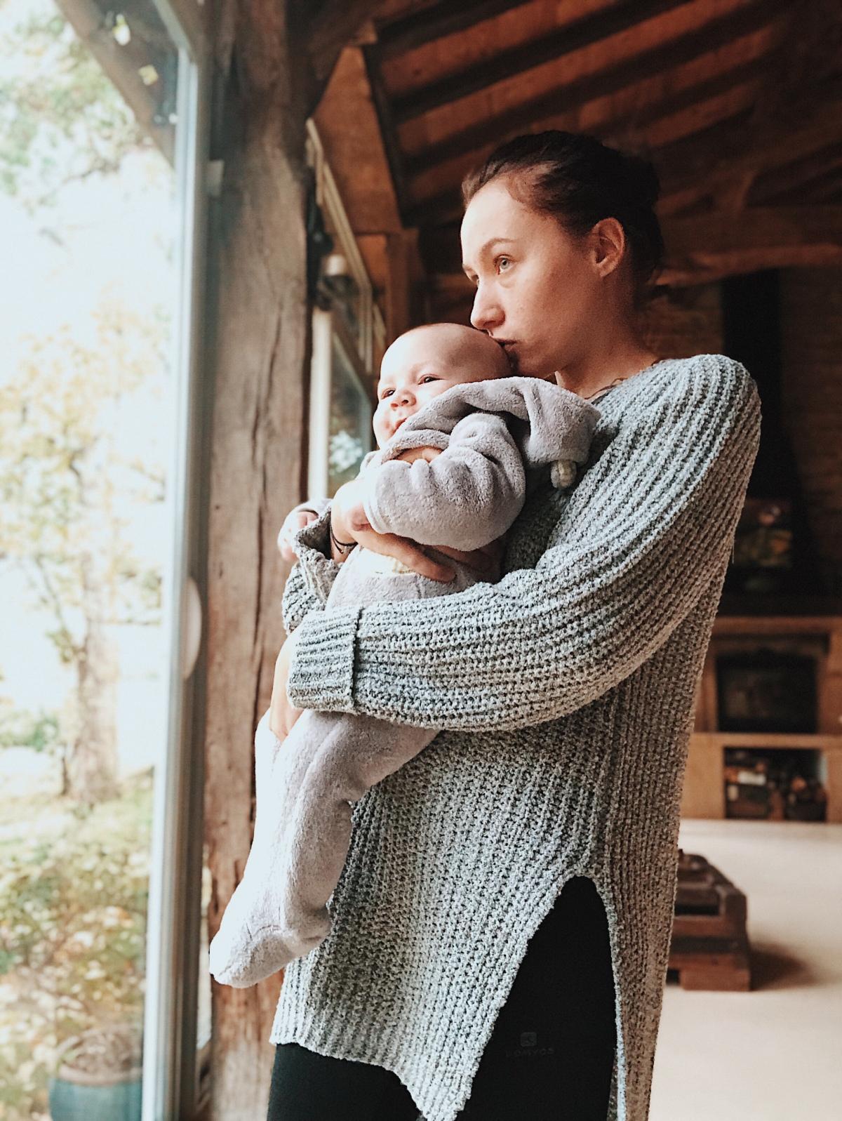 Andrea a 3 mois, et maman dans tout ça?